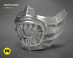 3D print model Reptile Mask