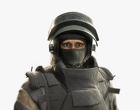 Russian Spetsnaz Soldier 3D model