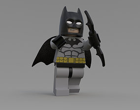LEGO BATMAN 3D asset realtime