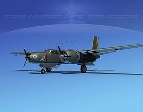 Douglas A-26B Invader V05 3D