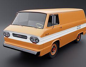 3D Chevrolet Corvair 95 Corvan Panelvan