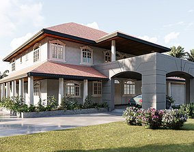 House 03 3D ironwork