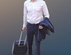3D model Anselmo 10227 - Walking Business Man