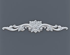 cornice 3D print model Baroque element 003