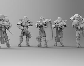 Knights of Roma - Frontline Riflemen Pack 2 3D print model