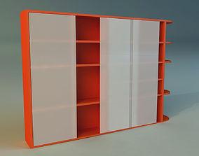 3D model room storage Cabinet