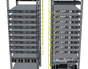 Managment Network for BigSwitch Managed Hosting Cluster 3D