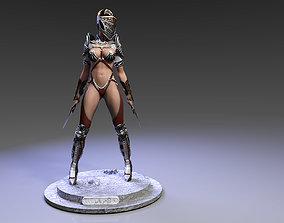 3D print model Bellona ready pose