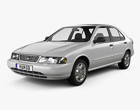 Nissan Sentra 1995 3D model