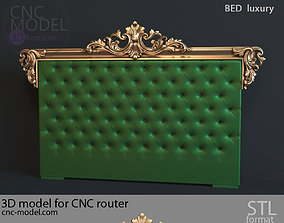 bed BED luxury for CNC router 3D