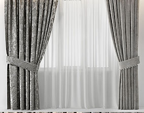 CURTAINS GLAM 3D model