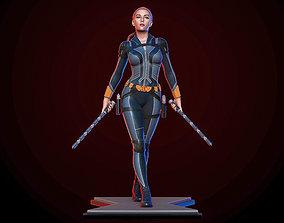 Black Widow 3D printable model scarlett