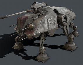 Star Wars - AT-TE 3D asset