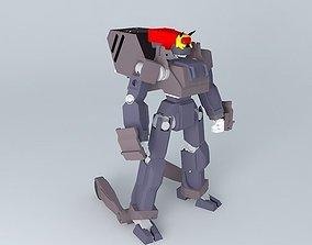 3D model burai zero custom inside cockpit added