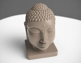 Buddha Head head 3D print model