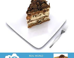 3D model Chocolate Cake Slice