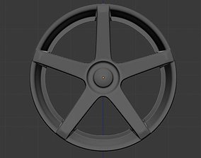 ABS 355 Rim high poly 3D model