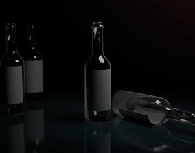 3D model game-ready bottle