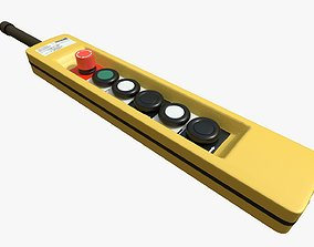 3D model Crane Controls