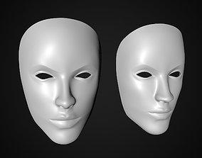 neutral mask 3D