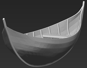 3D printable model Elven Boat from Lothlorien Lord of 3