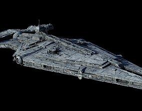 Imperial Light Cruiser 3D