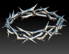 Crown of thorns god jesus 3d print