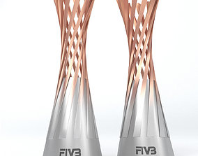 3D model Volleyball World Championship Women Cup Trophy