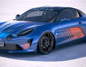 3D model france Alpine A110 Cup 2018