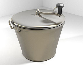 Vintage Kitchenware - Cooker 3D