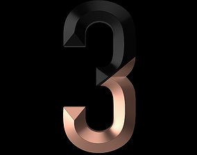 3D Graphic Number 3
