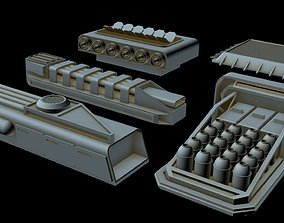 Greeble collection 4 3D