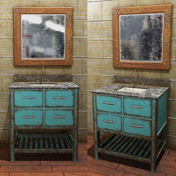 Bathroom Vanity Gaming