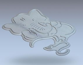 3D Design of Lord Ganesha Ganpati