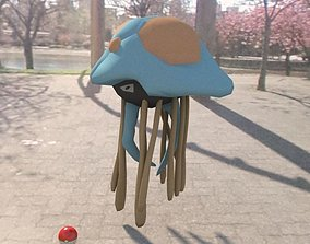 3D asset Pokemon tentacruel