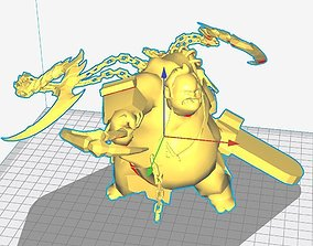 3D printable model Dota Pudge Arcana Dc Hook Bonesaw