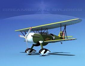 3D Curtiss P-6E Hawk V03