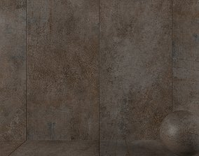 3D Stone Wall Tiles Etna Oxide 120x270