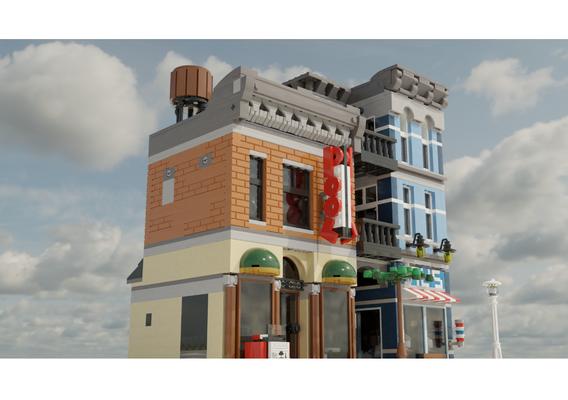 LEGO Detective's Office.