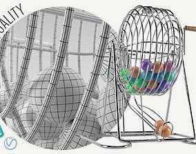 3D model Bingo Cage Thin