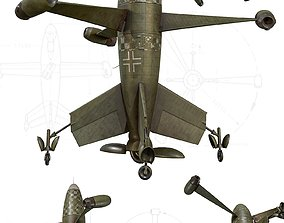 3D model Thrust Wing Hunter 1944