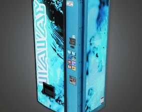3D model Soda Machine - HSG - PBR Game Ready