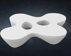 Quark Coffee Table 3D model