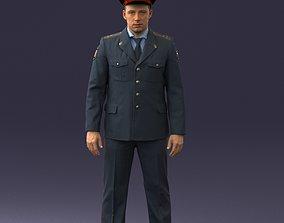 Policeman 0118 3D model