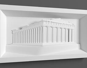 Parthenon for CNC Router 3D printable model