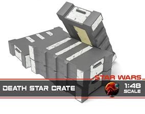 Star Wars death star crate 1-48 3D print model