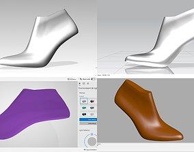 3D high heel - last