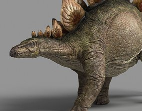 3D Stegosaurus astil