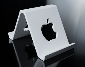 Apple Smartphone Stand 3D print model