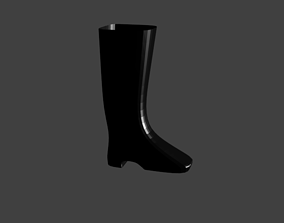 3D model Boot for character